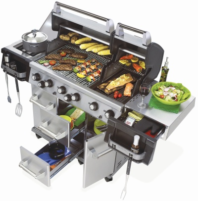 Barbecue gaz Broil King Impérial XL 90