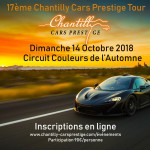 RALLYE : 17ème CHANTILLY CARS PRESTIGE TOUR