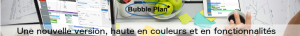 Illustration de la nouvelle version du logiciel de planification Bubble Plan
