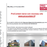 ProContain lance son nouveau site Procontain.fr