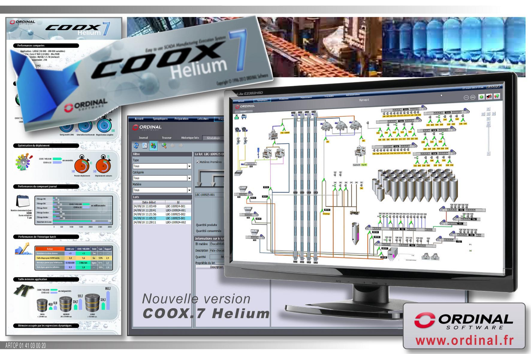 Ordinal Software nouvelle version solution COOX