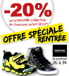 promo chaussures geox