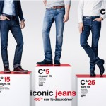 Vêtements : Collection Winter 13 « Iconic jeans » chez Celio*