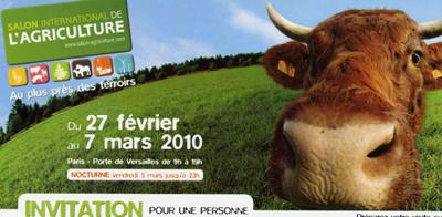 Salon de l agriculture paris invitations gratuites - Salon de l agriculture invitation gratuite ...