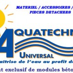 Piscines, spas, hammams BTP et irrigation du groupe Aquatechni-Universal
