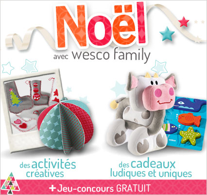 Noël 2013 arrive chez Wesco Family