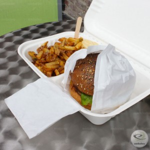 Emballage burger papier Pleatpak