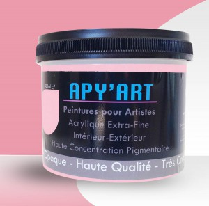 Pot 500 ml Rose Clair apyart.com