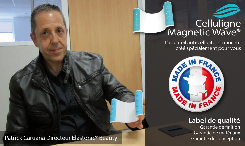 Le Celluligne Magnetic Wave produit France !