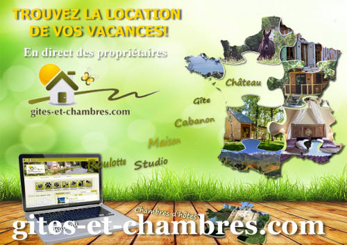 Gîtes chambres annuaire locations vacances France
