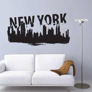 Univ stickers les stickers les rois de la - Deco murale new york ...