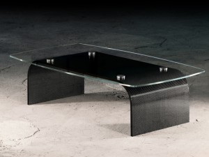 Table basse en carbone