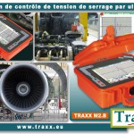 Traxx M2-B, nouvelle solution de mesure de tension de serrage par ultrasons