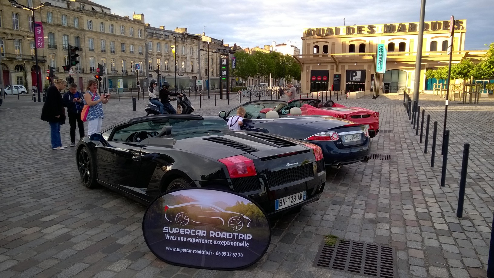 SuperCar RoadTrip Bordeaux Location Ferrari Lamborghini Jaguar Car Rental